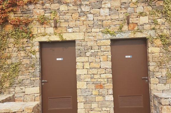 Maçonnerie en pierres à Le Cannet-des-Maures
