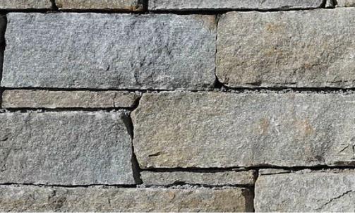 Fournisseur de pierre naturelle, barrette éclatée Luserne à coller, à St Raphaël  Eden pierres