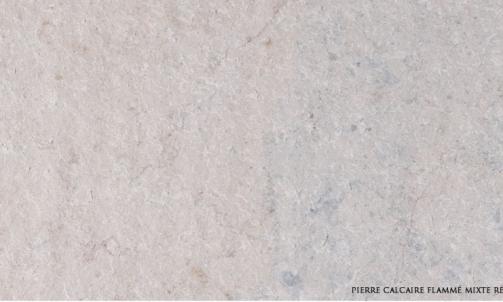Fournisseur de pierre naturelle, calcaire mixte flamme , Fréjus, Eden pierres