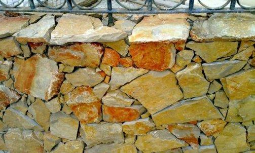Fournisseur de pierre naturelle, opus orangé Vidauban